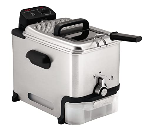 T-fal-Deep-Fryer-with-Basket,-Stainless-Steel