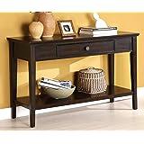 Furniture of America Eastern Sofa Table, Dark Cherry