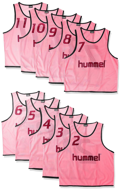 (ヒュンメル)hummel サッカーウェア トレーニングビブス タンクトップ HAK6006Z [メンズ] B01MUEHN4U 日本 L-O-(FREE サイズ)|ピンク ピンク 日本 L-O-(FREE サイズ)