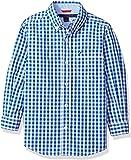 Tommy Hilfiger Boys' Long Sleeve Gingham Woven Shirt