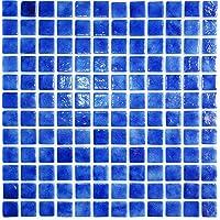 Vetro Mosaico N1044 Mosaico De Vidrio, Azul Oscuro