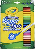 Crayola 58-8106 Washable Super Tip With Silly Scents Markers 20 Count