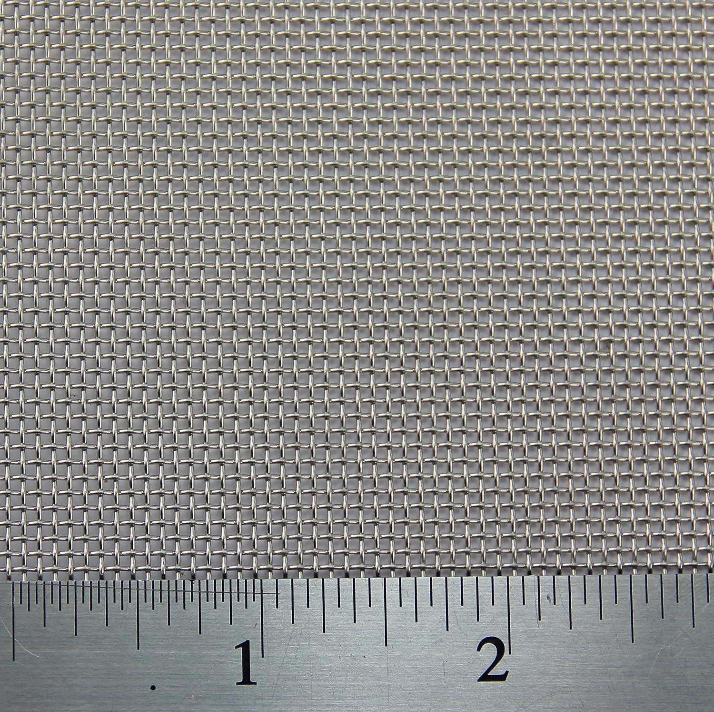 Stainless Steel Mesh 1 x 1.2 Metre 14 LPI x 1.55mm Hole x 0.24mm Wire BugMesh