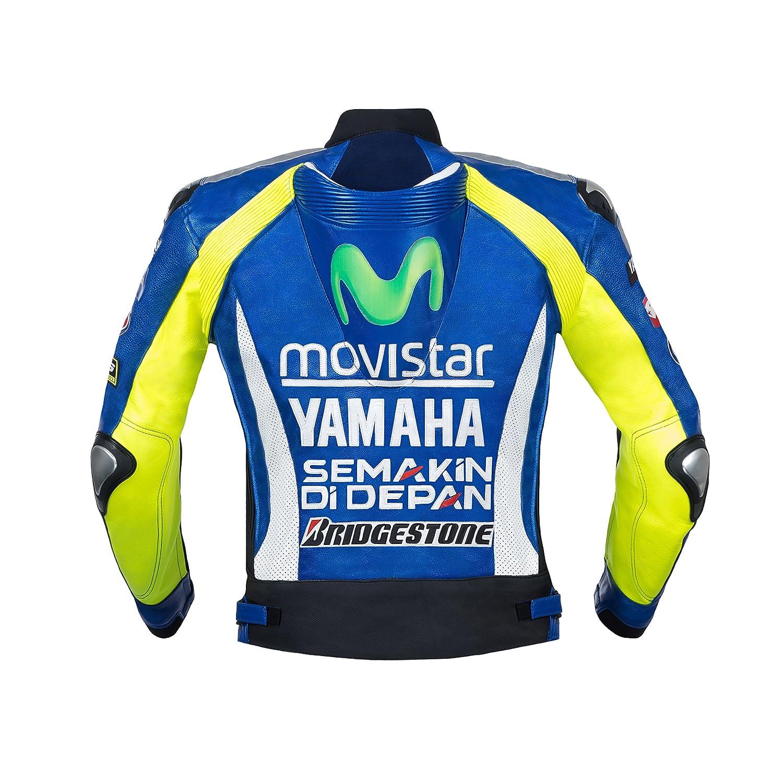 Movistar Yamaha profesional equipo de carreras chaqueta de ...