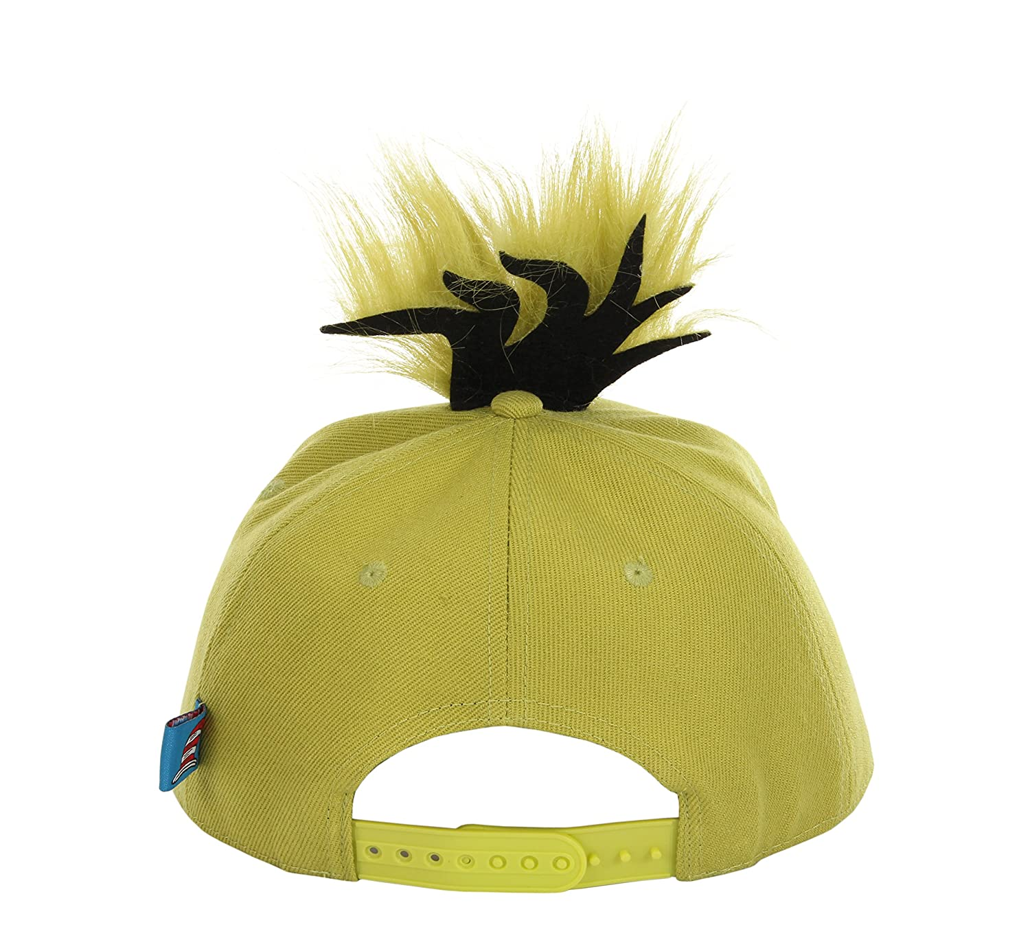 53f969945c40a Amazon.com  BRICKY BLOCKS Dr. Seuss Grinch Hat for Kids and Adults by  Elope  Clothing