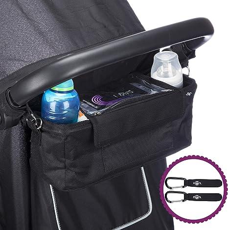 sac de rangement BTR pour poussette ou landau Organisateur Gris sacoche organiseur
