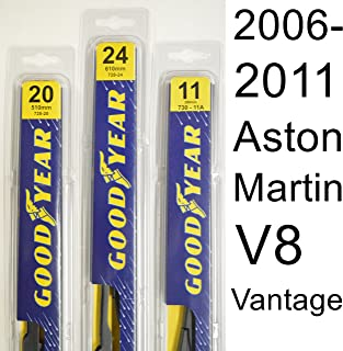 """product image for Aston Martin V8 Vantage (2006-2011) Wiper Blade Kit - Set Includes 24"""" (Driver Side), 20"""" (Passenger Side) (2 Blades Total)"""