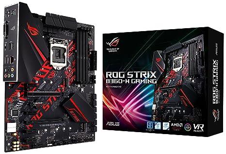 ASUS ROG Strix B360-H Gaming - Placa Base (DDR4-SDRAM, DIMM ...