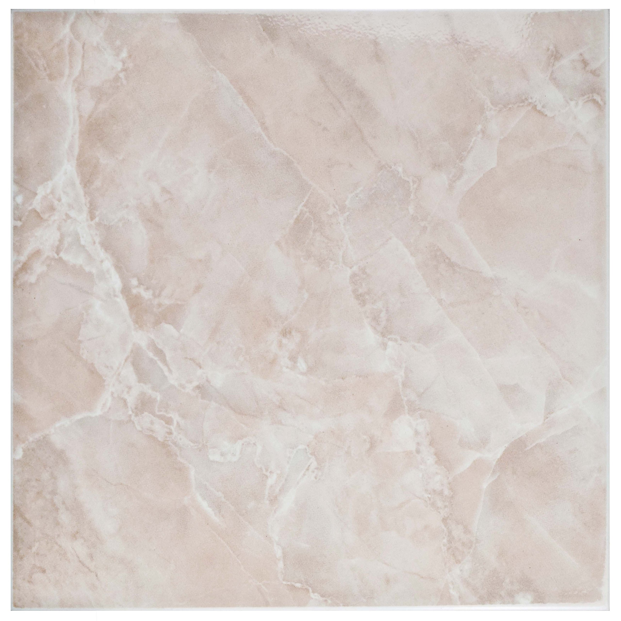 SomerTile FTC12GRS Sigma Ceramic Floor and Wall Tile, 11.75'' x 11.75'', Red/Pink