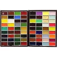 KISSOH Gansai 72-Color Japanese Watercolor Paint Set