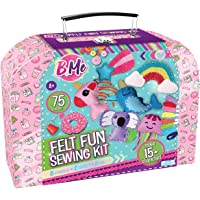 Felt Creative Arts and Craft Sewing Supplies Kit for Boys and Girl Ages 8+ Make Your Own 15+ DIY Characters…