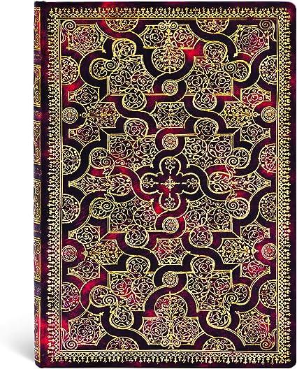 Midi Paperblanks Diari a Copertina Rigida Shiraz 130 /× 180 mm Righe