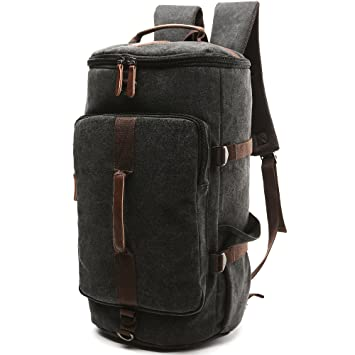 Amazon.com : DesCanon Canvas Backpack Travel Backpack Daypack ...