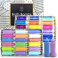 18-Pack Scented Candles Bath Bombs Gift Set