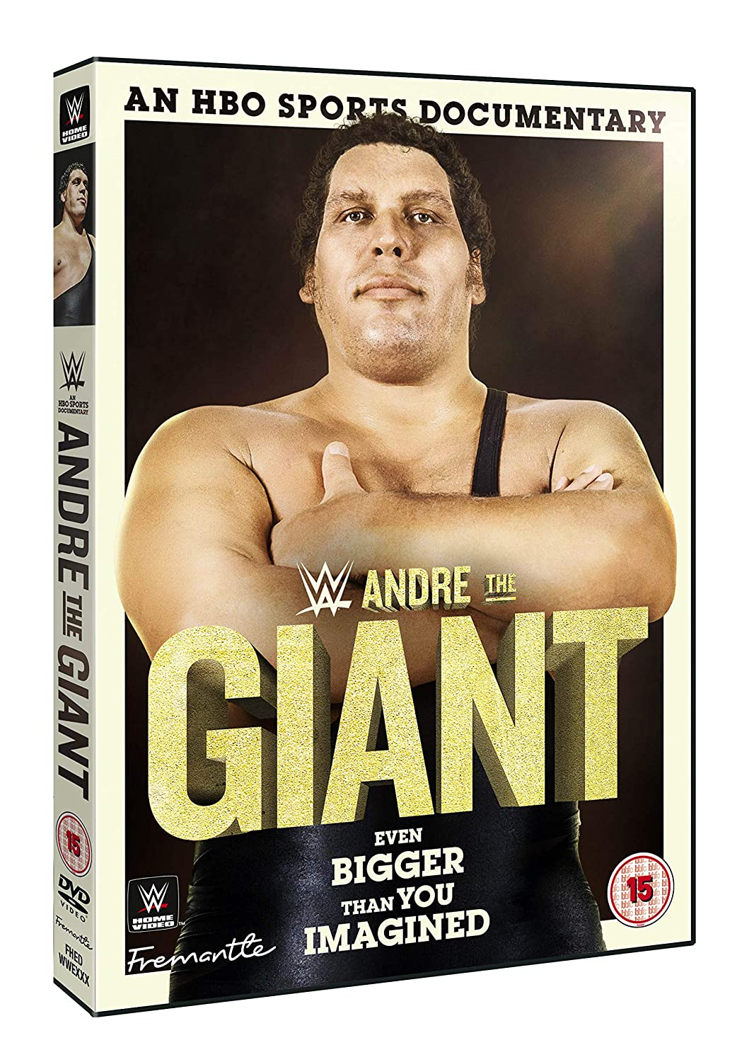 WWE: Andre The Giant [DVD] [Reino Unido]: Amazon.es: Andre the Giant, Hulk Hogan, Arnold Schwarzenegger, Big John Stud, Andre the Giant, Hulk Hogan: Cine y Series TV