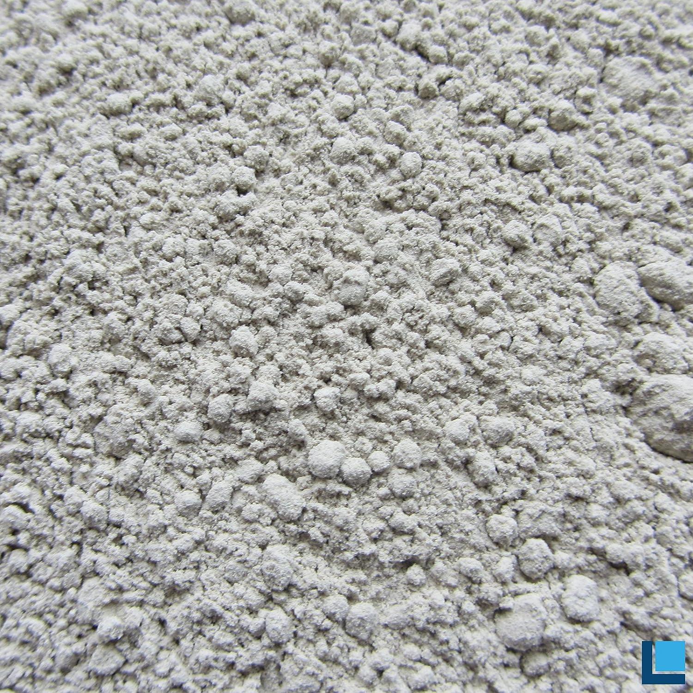 Bentonit plus 50 Pulver 1kg in hervorragender Reinheit mit extrem hohem Gehalt an aktivem mineralischem Montmorillonit 85-95% Labradorit.de