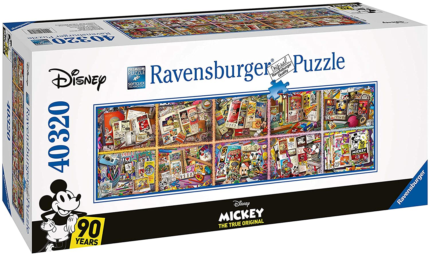 【激安大特価!】  Ravensburger Disney Years, Mickey through the Years, B07FCMF4XJ 40,000pc Jigsaw Disney Puzzle B07FCMF4XJ, アクシスR&Dゴルフ:dd679a81 --- a0267596.xsph.ru