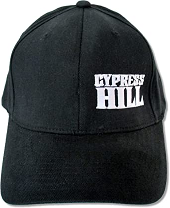 Cypress Hill Red Embroidered Logo Black Baseball Hat Cap New Official