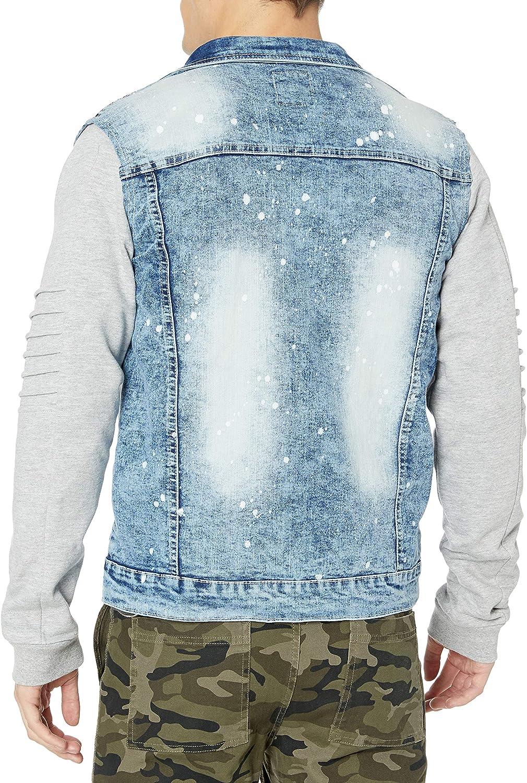 Southpole Mens Premium Fashion Denim Jacket