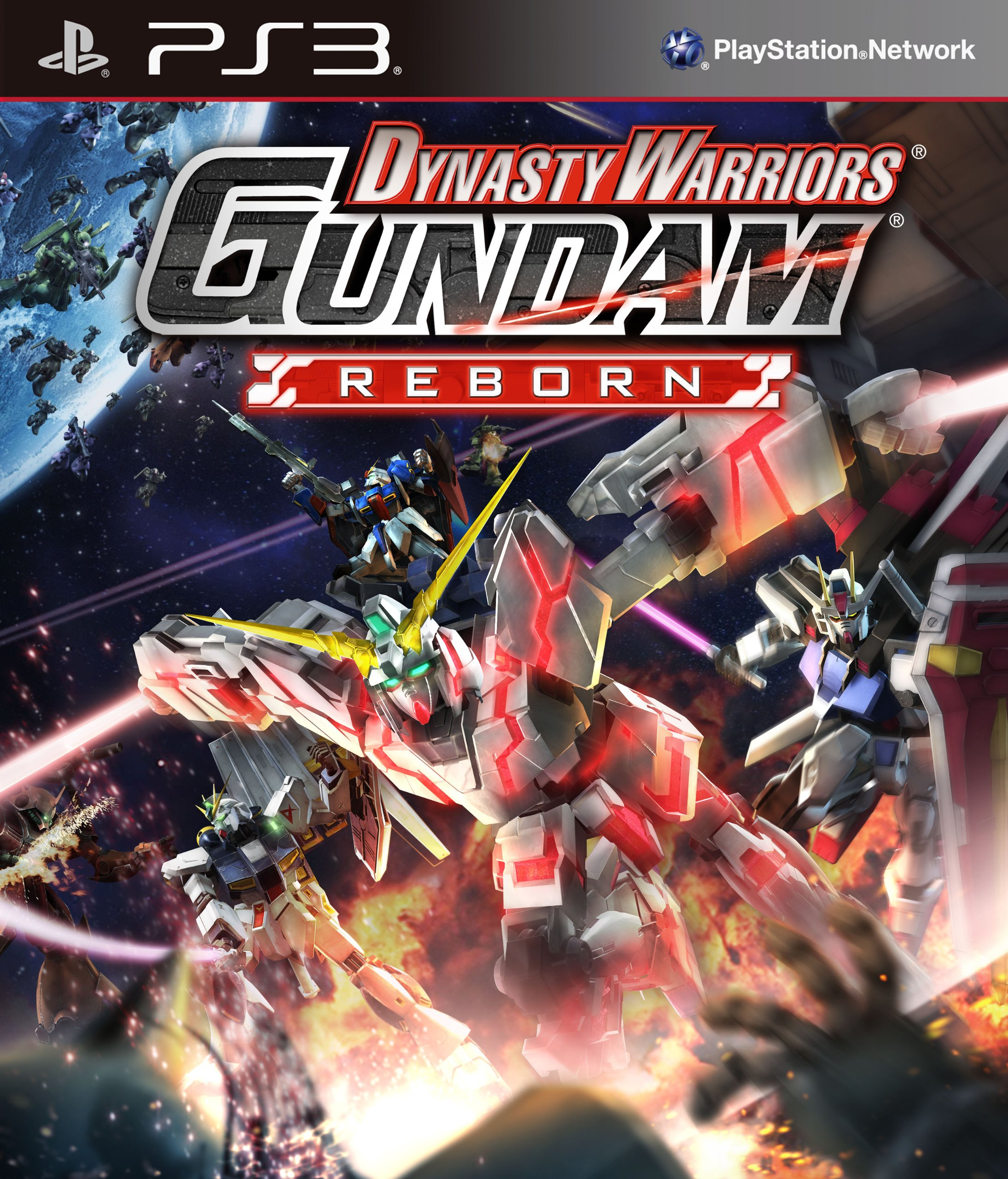 Dynasty Warriors Gundam Reborn (PS3)