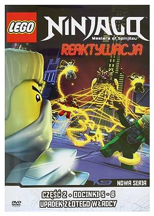 Amazoncom Lego Ninjago Rebooted Episodes 5 8 Dvd Import No