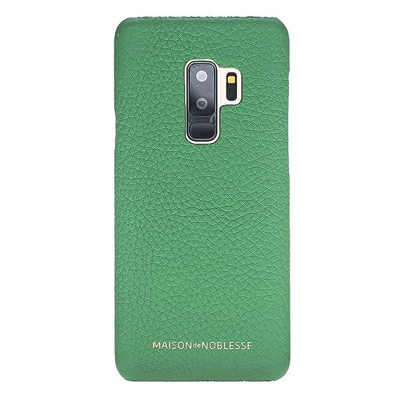 reputable site c60f3 1eac0 Amazon.com: Maison de Noblesse Samsung Galaxy S9 Plus Leather ...