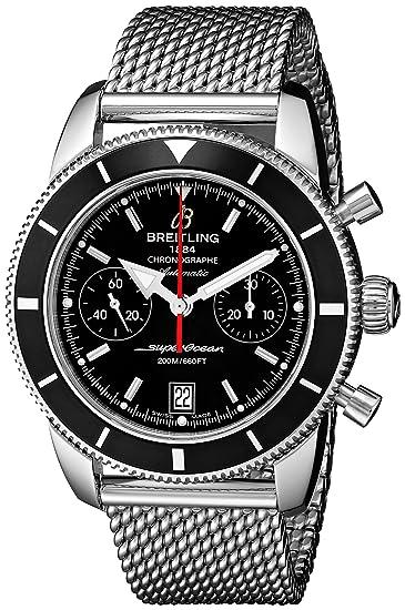 BREITLING RELOJ DE HOMBRE AUTOMÁTICO 44MM CORREA DE ACERO A2337024-BB81: Breitling: Amazon.es: Relojes