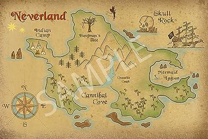 neverland Peter pan
