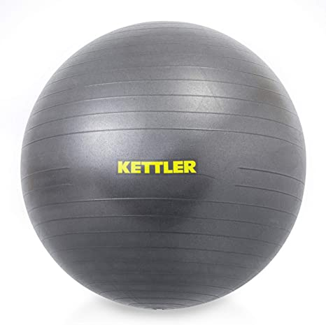 Kettler Unisex - Pelota de Gimnasio para Adultos, 75 cm, Antracita ...