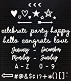 Letter Board Words and Celebration Pack (Word Pack, Letters & Bag ONLY)