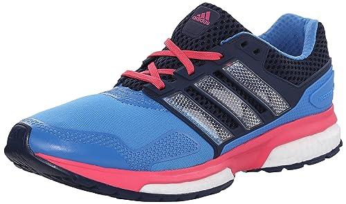 new arrivals 4d465 a1354 adidas Performance Women s Response Boost 2 Techfit W Running Shoe,  Blue Collegiate Navy Blue