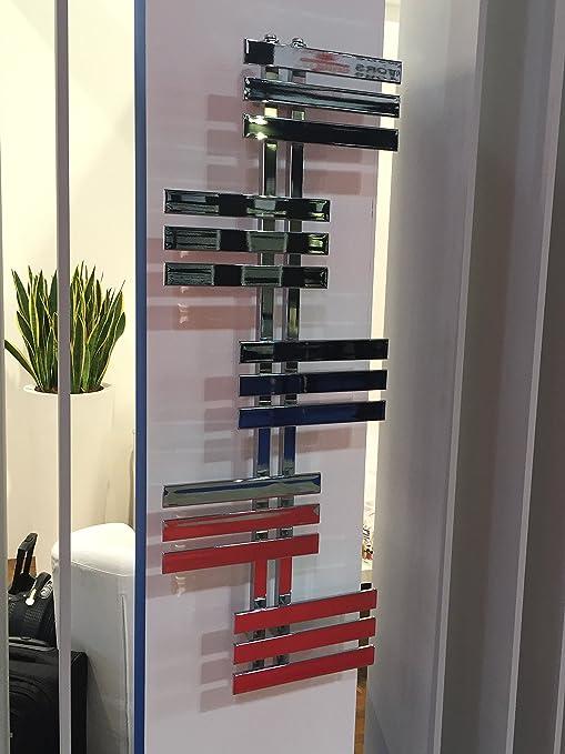 Diseño baño Radiador ELFIE Cromo 1300 x 600 mm.calentador toallas