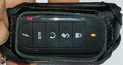 Viper 7251V 2-Way Remote Control Transmitter WITH Leather Case 7254V Upgrade