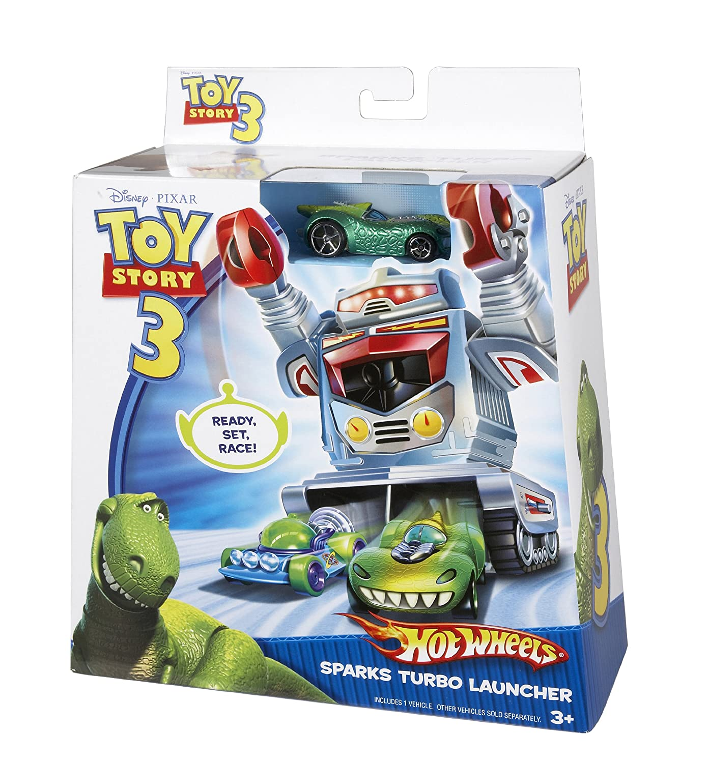 Hot Wheels Toy Story 3 Sparks Turbo Launcher by Hot Wheels (English Manual): Amazon.es: Juguetes y juegos