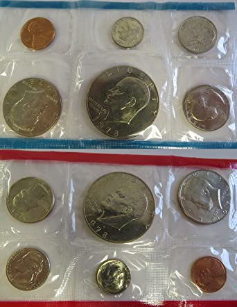 1978 D Roosevelt Dime ~ Uncirculated Coin in Cellophane from Mint Set