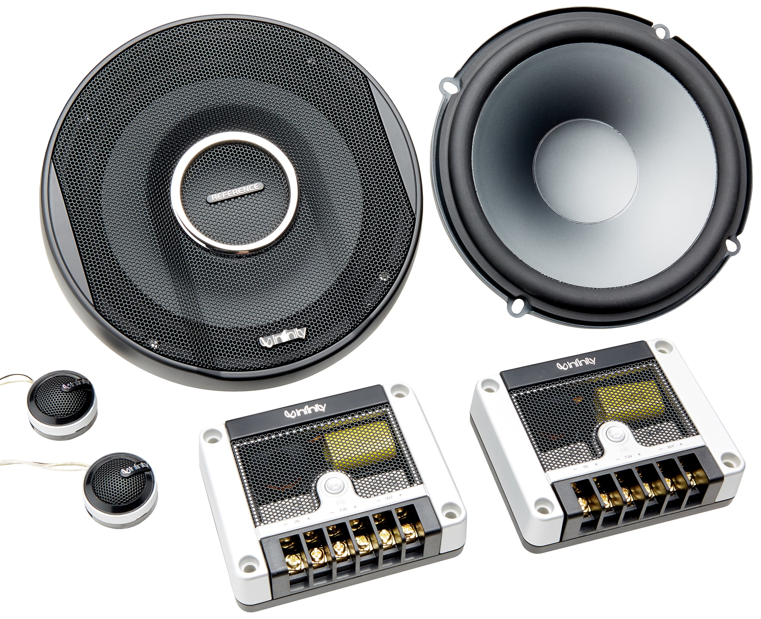 Infinity Reference 6500CX 6-1/2'' (165mm) two-way car audio component loudspeaker system