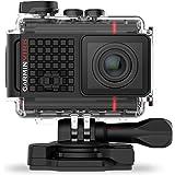 Garmin Virb Ultra 30 HD 4K - Cámara de accción con GPS y control de voxz incorporados, color negro y rojo