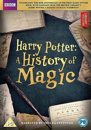 Harry Potter A History Of Magic DVD 2017