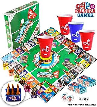 DRINK-A-PALOOZA (COPA-A-PALOOZA) potable juegos para adultos, los mejores juegos de mesa adultos