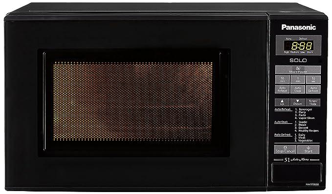 40863ed9f Panasonic 20 L Solo Microwave Oven (NN-ST266BFDG