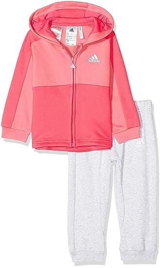 adidas Kinder Linear Hoodie Fleece Jogginganzug Sportanzug