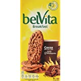 Belvita Breakfast Cocoa Biscuits with Choc Chips, 6 x 50g