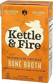 product image for Kettle & Fire, Bone Broth Mushroom Chicken, 16.9 Fl Oz