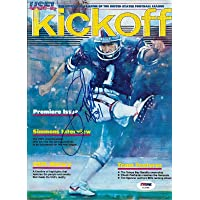 Herschel Walker Signed 1983 USFL Football Game Program PSA/DNA Premiere Issue - Autographed College Magazines photo