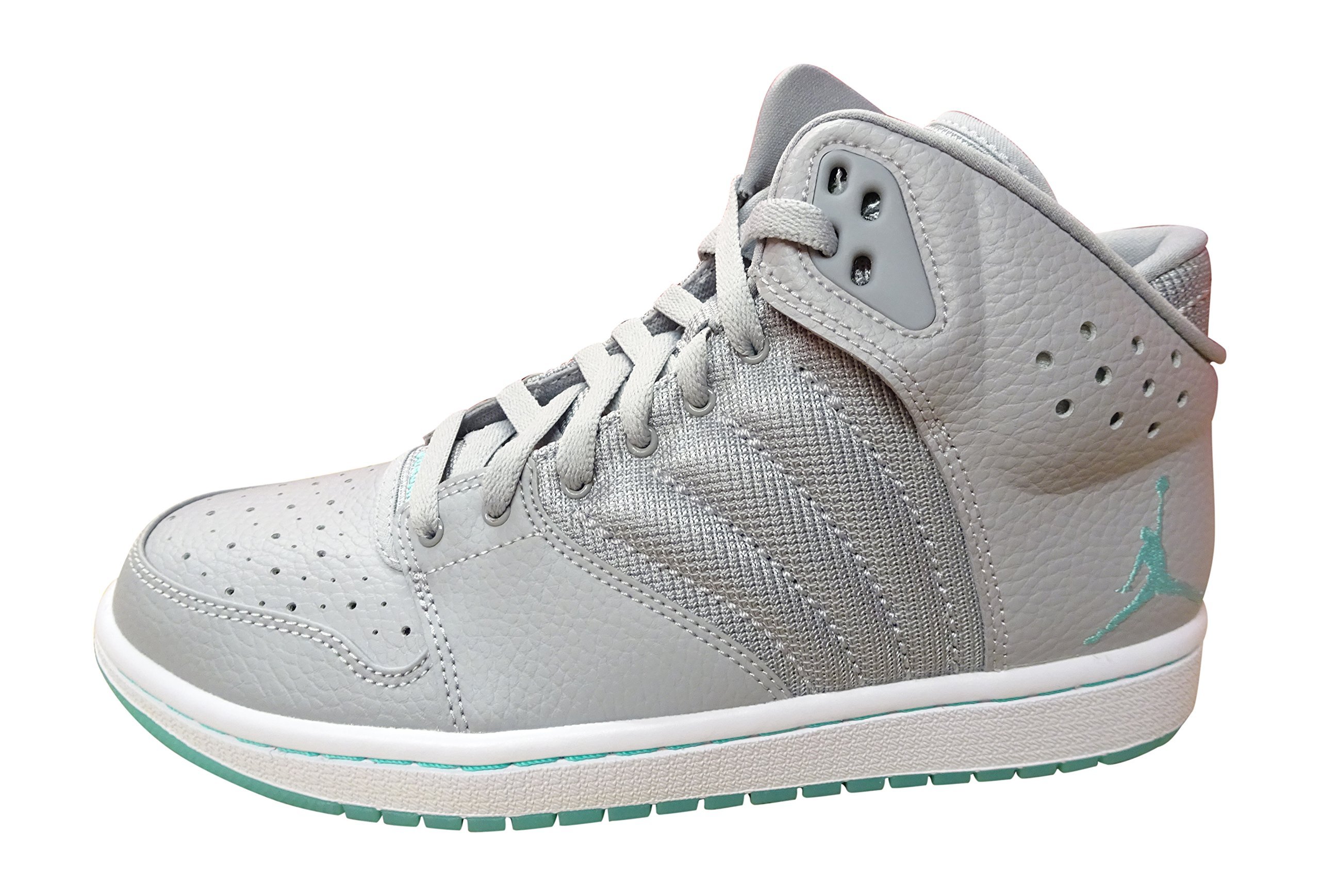 save off 9a81a 29693 Galleon - Nike Air Jordan 1 Flight 4 PREM Mens Hi Top Basketball Trainers  838818 Sneakers Shoes (US 8.5, Wolf Grey Turquoise White 031)
