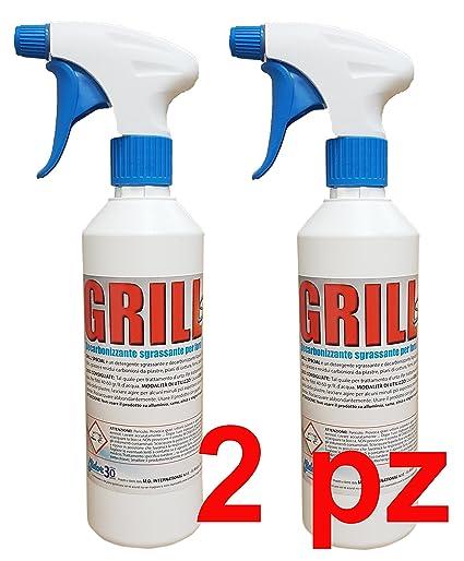 Detergente para hornos, cristales estufas de pellets, placas, rejillas, elimina Restos de