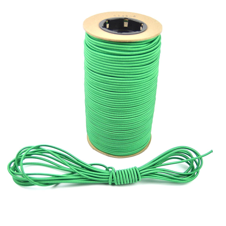 100 Feet Tie Down Trailer Strap Marine Masters 1//8 100ft Green Bungee // Shock Cord Crafting Stretch String Powersport Parts 2 U Inc