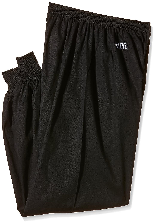 Blitz Pantalones de Kung-Fu, ColorNegro, 5/180cm