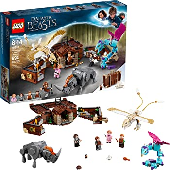 LEGO Fantastic Beasts Newt's Case Magical Creatures Building Kit