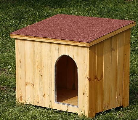 Caseta de madera para perros 95 x 65 x 85h
